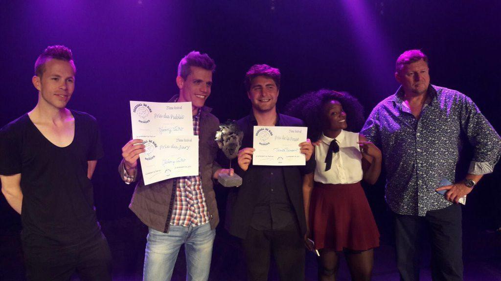 Mirko Rochat au Festival International d'humour de Bierges en Belgique