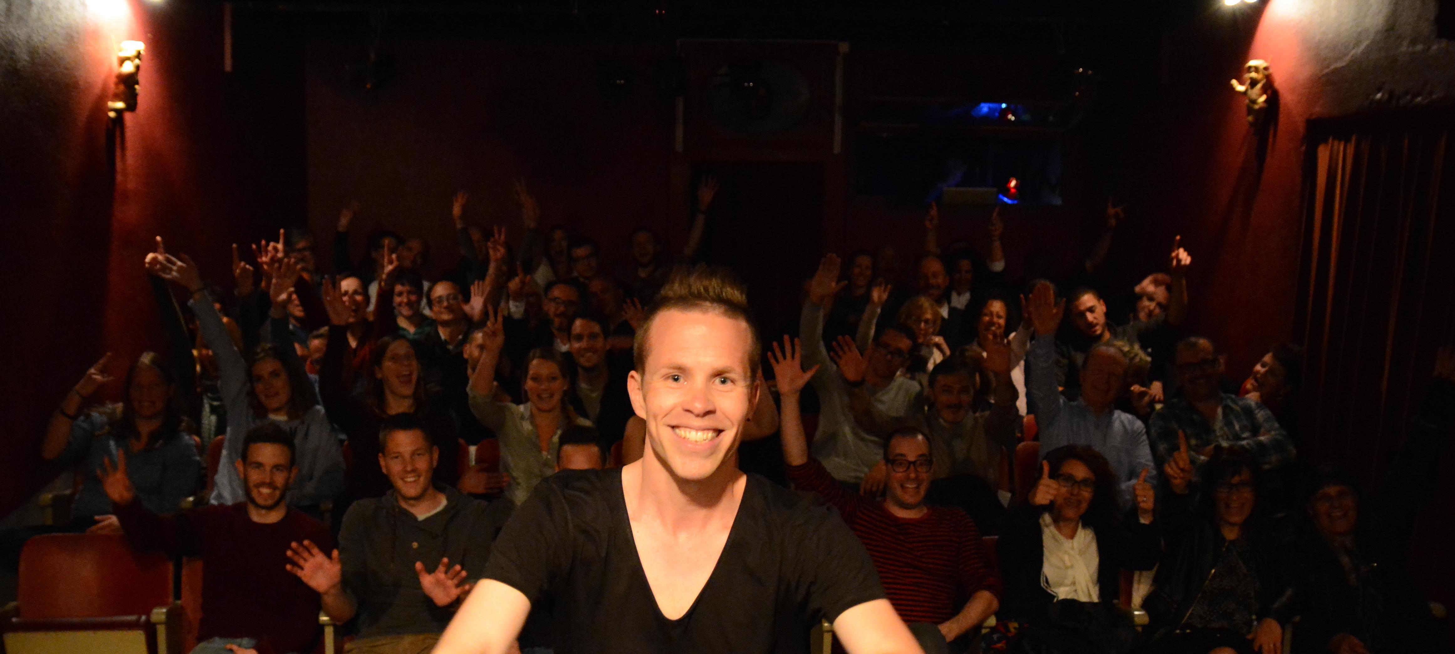 Mirko Rochat - Supermâle au Théâtre du Vide Poche à Lausanne