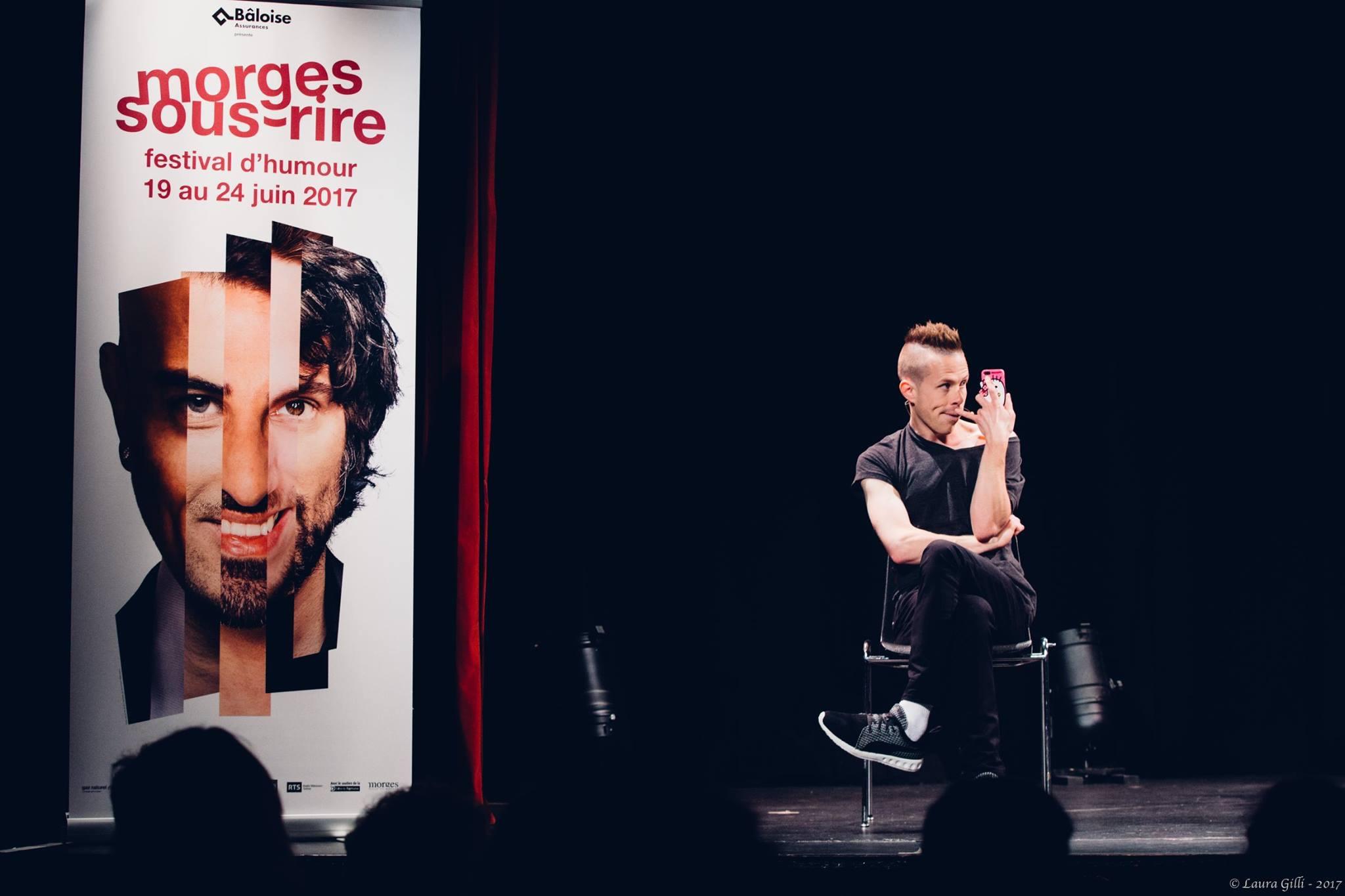 Mirko Rochat - Supermâle au CPO Lausanne pour le concours Scène Ouverte le 22 juin à Morges Sous Rire