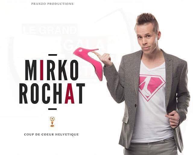 Mirko Rochat - Coup de coeur helvétique au Gala des Festivals - Pranzo Production - Théâtre du Gymnase Mary-Bell - Paris 11 juin 2017