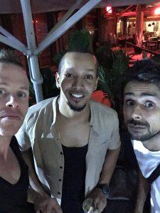 Tel Aviv Comedy Club - Mirko Rochat, David Smadja et Waly Dia