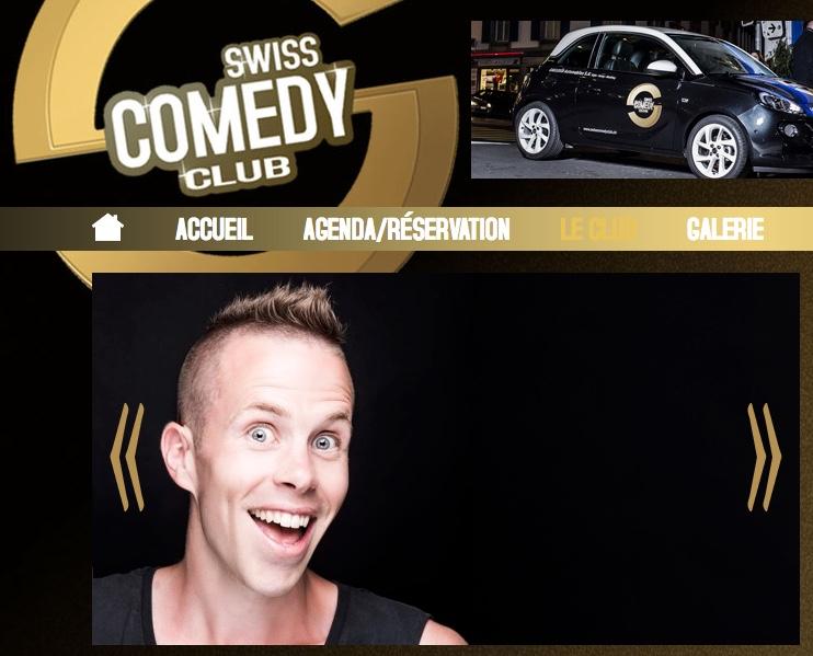 Mirko Rochat dans le Swiss Comedy Club