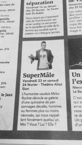 Mirko Rochat - Supermâle - 20 minutes