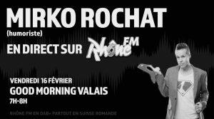 Mirko Rochat - Supermâle - Rhône FM