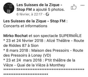 Mirko Rochat - Supermâle - Stop FM