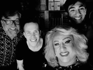 Supermâle Cabaret Cosmo avec Christophe Bugnon, Alexandre Juillet et Catherine d'Oex