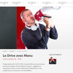Mirko Rochat dans les Bons Plans de Manu sur ROUGE FM