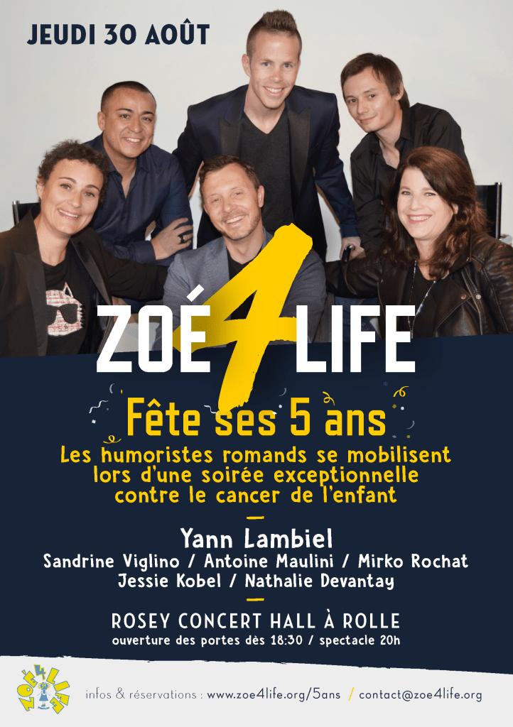 Zoé 4 life fête ses 5 ans