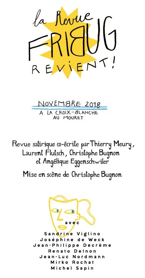 Revue de Fribourg - Fribug - Michel Sapin, Jean-Luc Nordmann, Sandrine Viglino, Mirko Rochat, Laurent Flutsh, Chistophe Bugnon, Thierry Meury