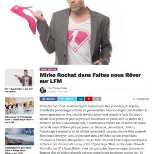 Mirko Rochat sur LFM avec Morax le 8 mars 2018