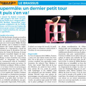 Mirko Rochat - Critique Supermâle - Casino du Brassus - mai 2019